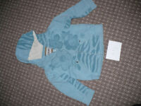 Tracksuit jacket/ hoodie with zip for girl 4-5 years from Next. Hardly used.