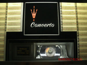 JUKEBOX ROCK OLA CONCERTO MODEL 434 COMPACT
