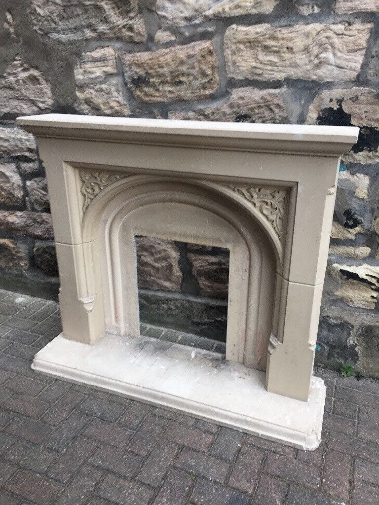 Composite Stone Effect Fire Surround In Kirkcaldy Fife