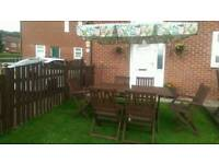garden table and chairs for sale in leeds. garden table + 6 chair\u0027s and chairs for sale in leeds c