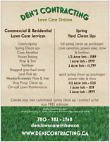 SPRING YARD CLEAN UP..YARD CARE..ACREAGE MOWING..WEEKLY MOW