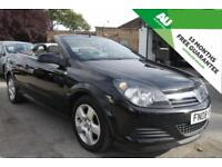 2008 VAUXHALL ASTRA 1.6 16v Coupe Twin Top Air Convertible