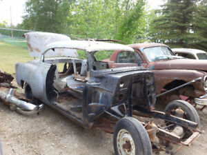 1953 Chev Belair Sport Coup 2 Door Project Car