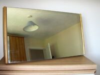Solid Pine Dressing Table Mirror