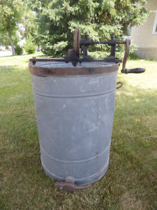Antique Honey Extractor