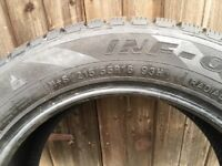 FOUR AS NEW TYRES 215X55X16.