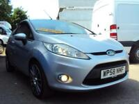 Ford Fiesta Mk7 1.25L Zetec – LOW MILEAGE – WITH WARRANTY– IDEAL FOR NEW DRIVERS