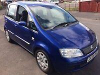2006 FIAT IDEA CHEAP CAR TO RUN £395 PX WELCOME