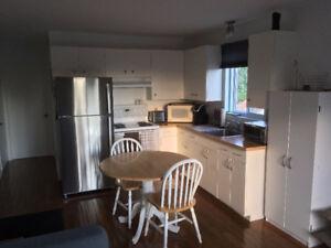 Beau logement 3 1/2 dans un triplex très ensoleillé et tranquile