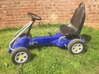 Blue Peddle Go-Kart (childs) - Original Kettcar