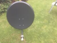 Satellite dish & LNB