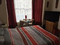 Large furnished double room available