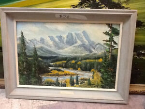 Sharter Watercolor - Upper Ghost River Painting
