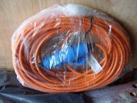 240V 25mt. power lead for motorhome/caravan