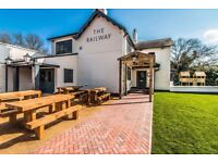 The Railway, Lowdham, is Recruiting!