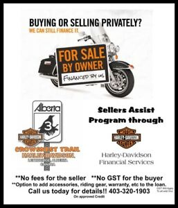 Buying or Selling a Harley privately - Financing Available oac