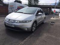 Honda Civic CTDI - FSH - HPI Clear - Sat Nav - Xenon lights - AC - Alloys