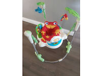 Jumperoo rain forest Fisher price