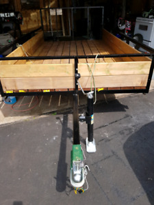 """Utility trailer 64""""X10 $1200 New condition"""