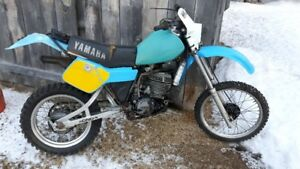 1982 IT465 with blue plate title, Yamaha IT175 IT250 IT465