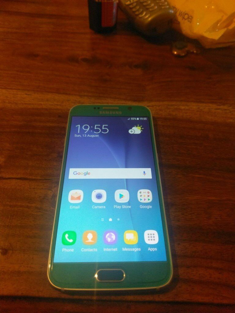 Samsung Galaxy S6 Topaz Blue 32GB 3GB-Ram (Unlocked)