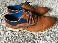 Nearly new leather male size 12 shoes