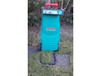 Bosch AXT Rapid 180 Blade Garden Shredder - used
