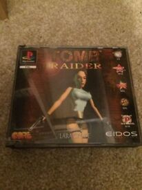 Tomb raider Sony ps1 game