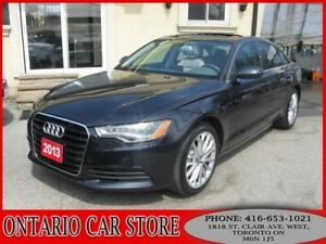 2013 Audi A6 3.0T V6 QUATTRO PREMIUM PLUS !!!NO ACCIDENTS!!!