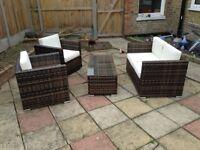 Oseasons Rattan Garden Furniture Set