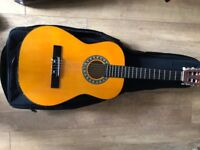 Children's Acoustic Guitar, Junior size with carry case