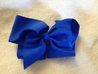 *New* 6 inch Electric Blue Hair Bow