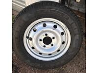 BRAND NEW VAUXHALL VAN STEEL WHEEL FITTED WITH MICHELIN 225/65/16C COMMERCIAL TYRE