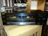 Aiwa AD-WX505 Twin tape deck £30