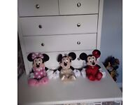 Minnie Mouse Soft Toys ***Excellent Condition***