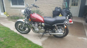 1981 yamaha maxim xj650 price negotiable