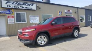 2015 Jeep Cherokee Sport- REMOTE START-BLUETOOTH-HEATED SEATS-1