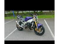 Kawasaki stunt bike road registered