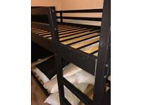 IKEA BunkBed solid wood with foam mattresses