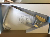 Pegler Manta Mono Kitchen Sink Mixer Tap Side Action New in Box 4S8006
