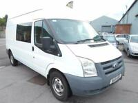 Ford Transit 2.2TDCi Duratorq ( 115PS ) 350L High Roof crew cab 9 seats