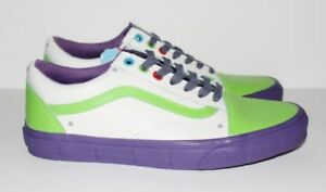 Vans x Toy Story Buzz Lightyear Limited Edition Shoe MINT** 10