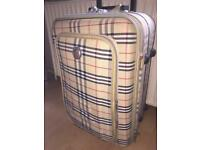 "Medium size suitcase 22""tall x 14"" wide"