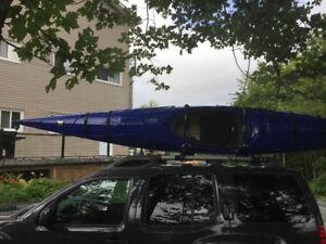 "Perception Carolina 14.5 Fiberglass Touring Kayak ""Prototype"""