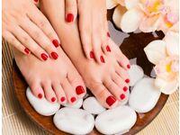 Mobile beauty beautician therapy therapist wax facial shellac gel nails manicure pedicure Brazilian