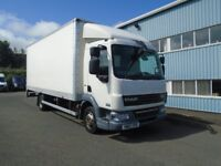 2012 DAF LF45-160 20FT GRP BOX AND TAIL LIFT