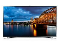 SAMSUNG 55 SMART 1080P 3D FULL HD INBUILT CAMERA VOICE&HAND MOTION CONTROL
