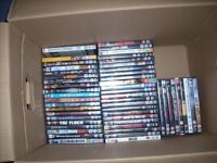 160 box of dvds all genre for sale