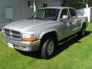 2003 Dodge Dakota 4x4 Quad cab