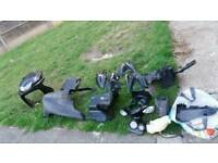 Yamaha aerox and vespa lx parts